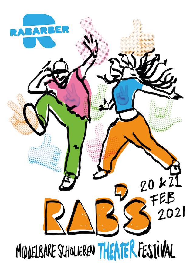 RAB'S beeld staand 21