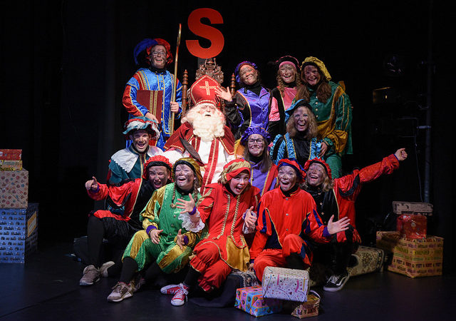 Sint in de Pietensportschool