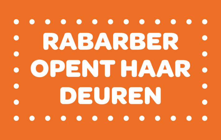 Rabarber opent haar deuren
