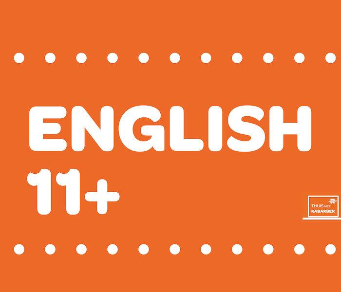 ENGLISH 11 PLUS KIJKLESSEN