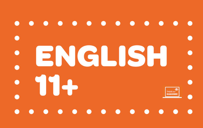 ENGLISH 11 PLUS KIJKLESSEN