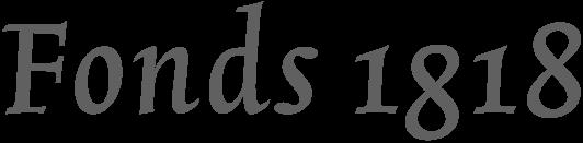 Fonds1818 logo